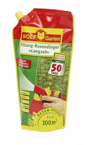 Wolf-Garten LL 100 R Langzeit Flüssig-Rasendünger Nachfüllpack für 100qm