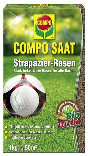 COMPO SAAT Strapazier-Rasen 1 kg Rasensamen