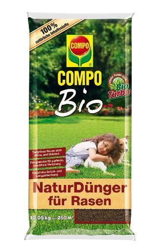COMPO Bio NaturDünger für Rasen 10 kg