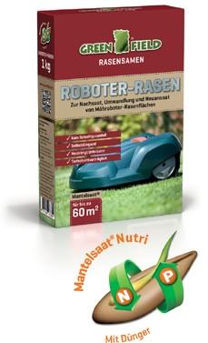 Greenfield Roboter - Rasensamen - Mischung 1 kg