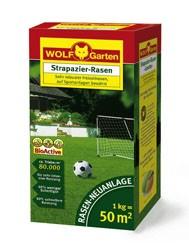 Wolf LJ 50 Strapazier-Rasen 1kg Rasemischung für 50qm