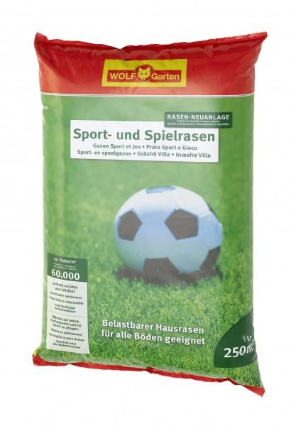 Wolf-Garten LG 250 Sport -und Spielrasen 5kg Rasensamen für 250qm