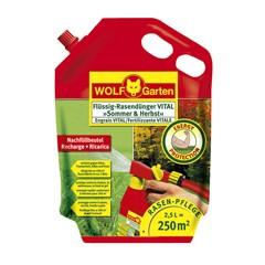 WOLF LV 250 R 2,5 Liter Flüssig-Rasendünger VITAL Sommer und Herbst