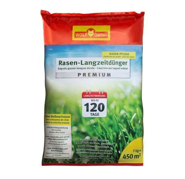 Wolf-Garten LE 450 120 Tage Premium Langzeitrasendünger für 450qm