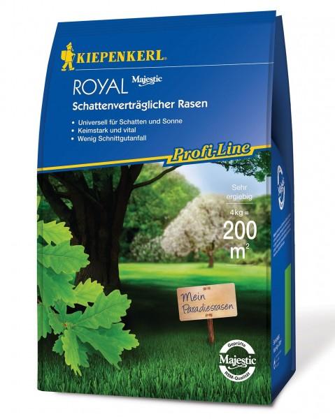 Packshot der Kiepenkerl Profiline Royal Schattenrasenmischung 4kg