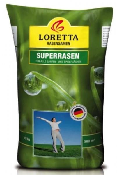 Loretta Superrasen 10kg Rasensamen