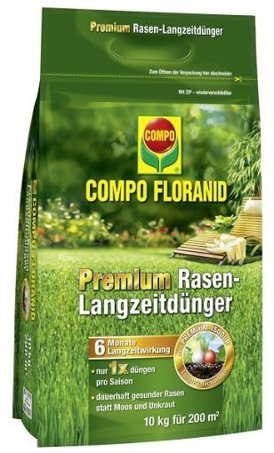 COMPO Floranid Premium Rasen-Langzeitdünger 10 kg