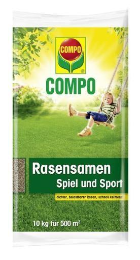 COMPO Rasensamen Spiel & Sport 10 kg Rasensamen