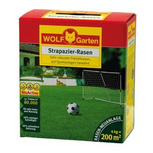 Wolf LJ 200 Strapazier-Rasen 4kg Rasenmischung für 200qm