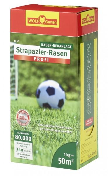 Wolf-Garten LJ 50 Strapazier-Rasen 1kg Rasemischung für 50qm