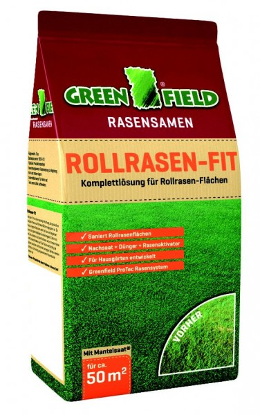 Greenfield Rollrasen-Fit 3,0 kg
