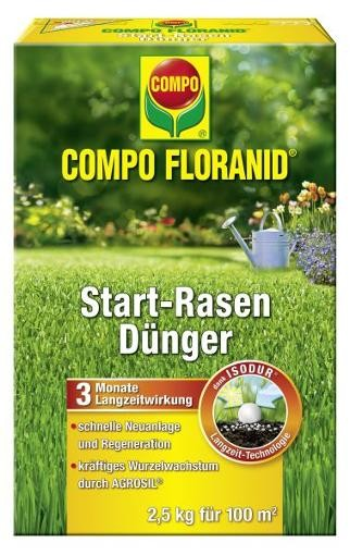 COMPO Floranid Start-Rasendünger 2,5 kg