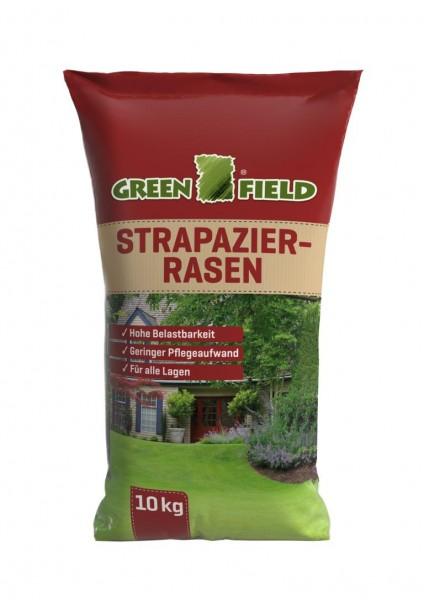 Greenfield Strapazierrasen Rasensaat 10kg