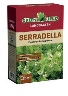 Greenfield Landsaat - Mischung Serradella 500 Gramm