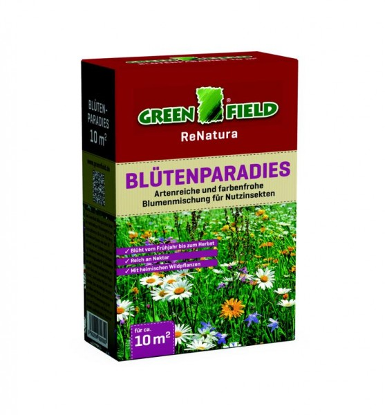 Greenfield Blütenparadies Blumensamenmischung 0,25 kg