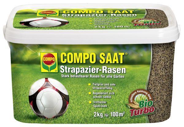 COMPO SAAT Strapazier-Rasen 2 kg Rasensamen